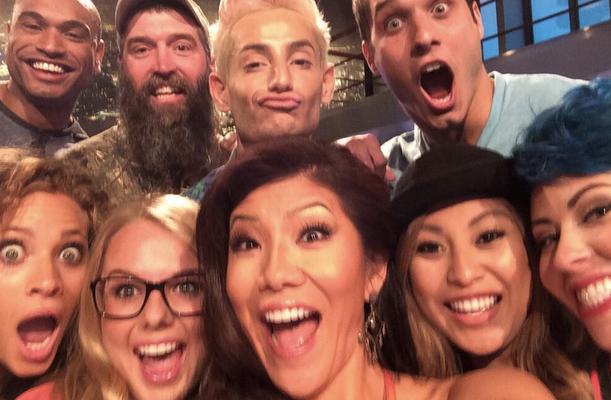 Julie Chen BB16 Cast Selfie