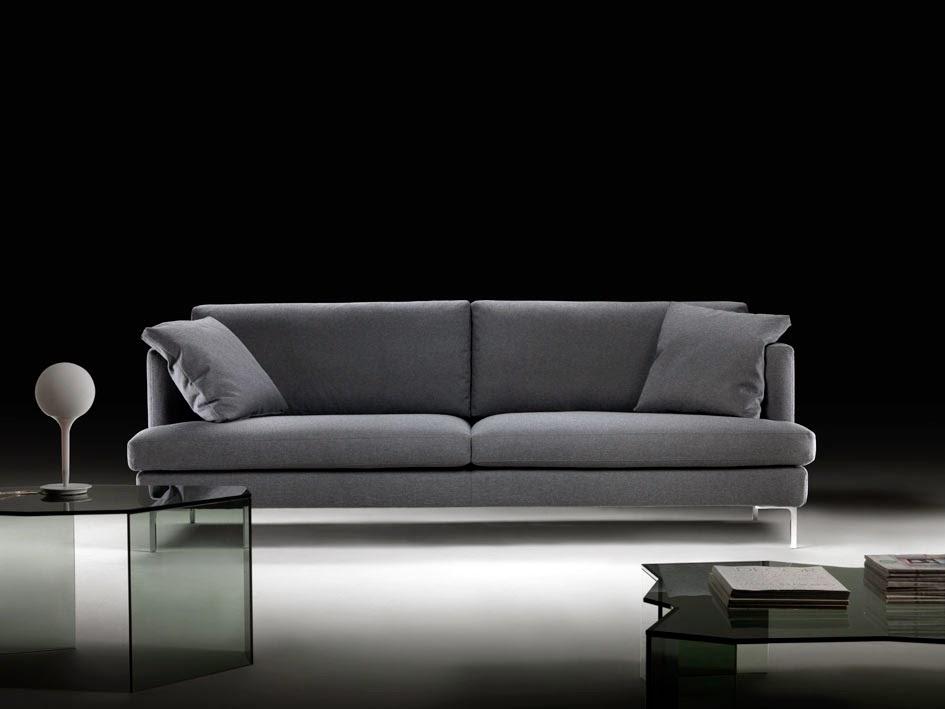 La storia del divano moderno manhattan tino mariani - Divano a pozzetto ...