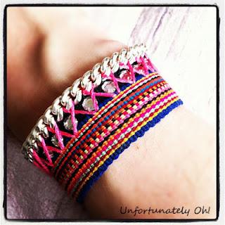 swarovski inspired bracelet