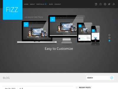 Fizz WordPress Theme