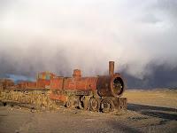 Uyuni Train Cemetery, Bolivia