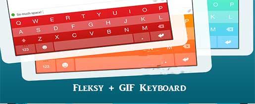 Fleksy + GIF Keyboard Apk v6.5.0