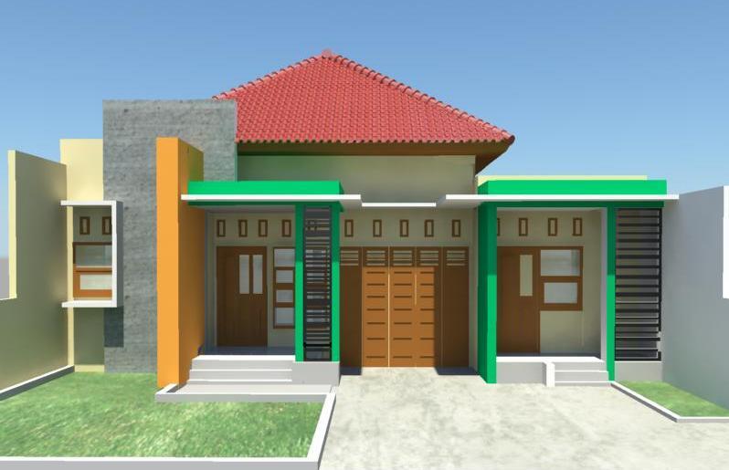 Rumah Minimalis Dua Ruang Tamu