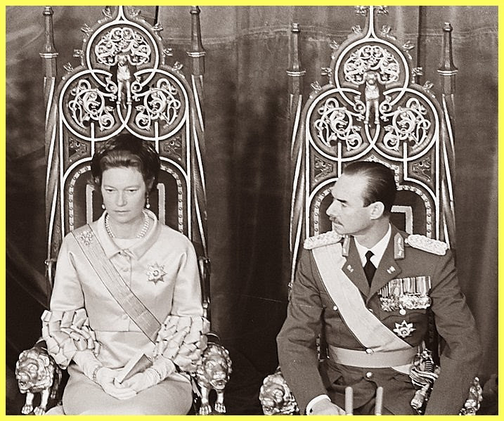 Entronación del Gran Duque Jean en 1964