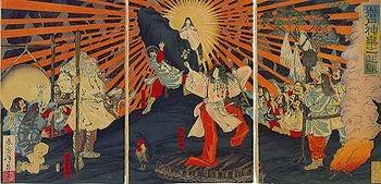 Amaterasu, Susanoo si Orochi