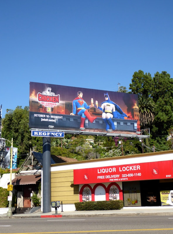 Robot Chicken DC Comics Special 3 billboard