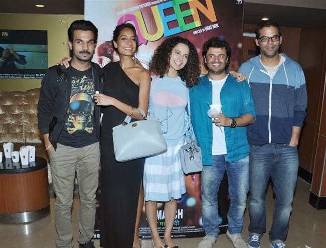 Kangana Ranaut at screening of Queen at PVR Juhu