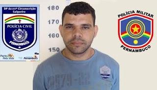SALGUEIRO-PE: Polícia prende fugitivo de presídio por receptação