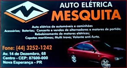 Auto Elétrica Mesquita