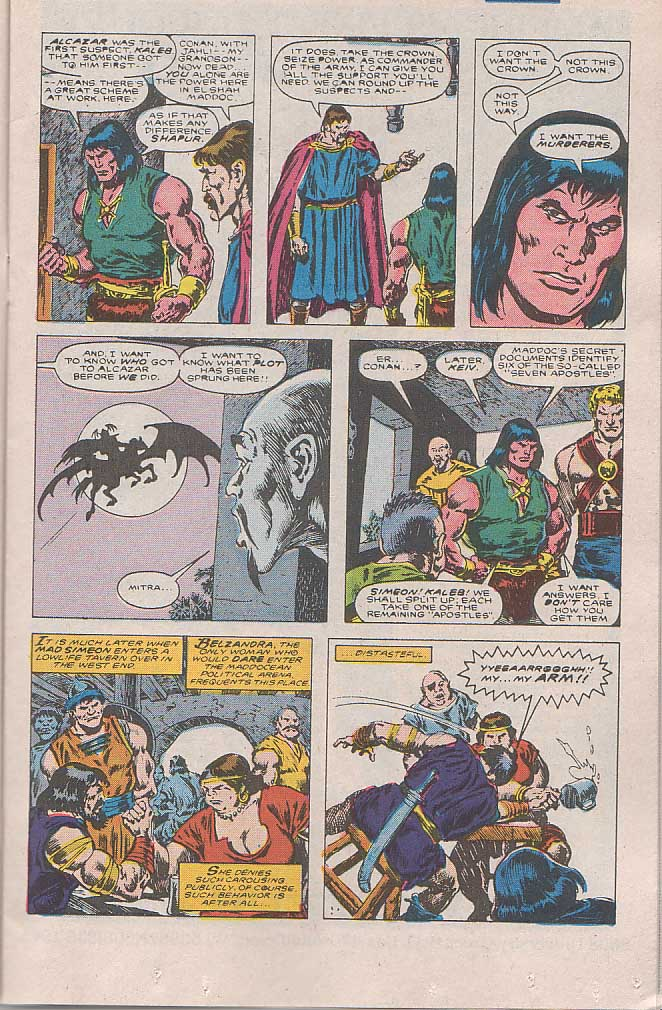 Conan the Barbarian (1970) Issue #189 #201 - English 9