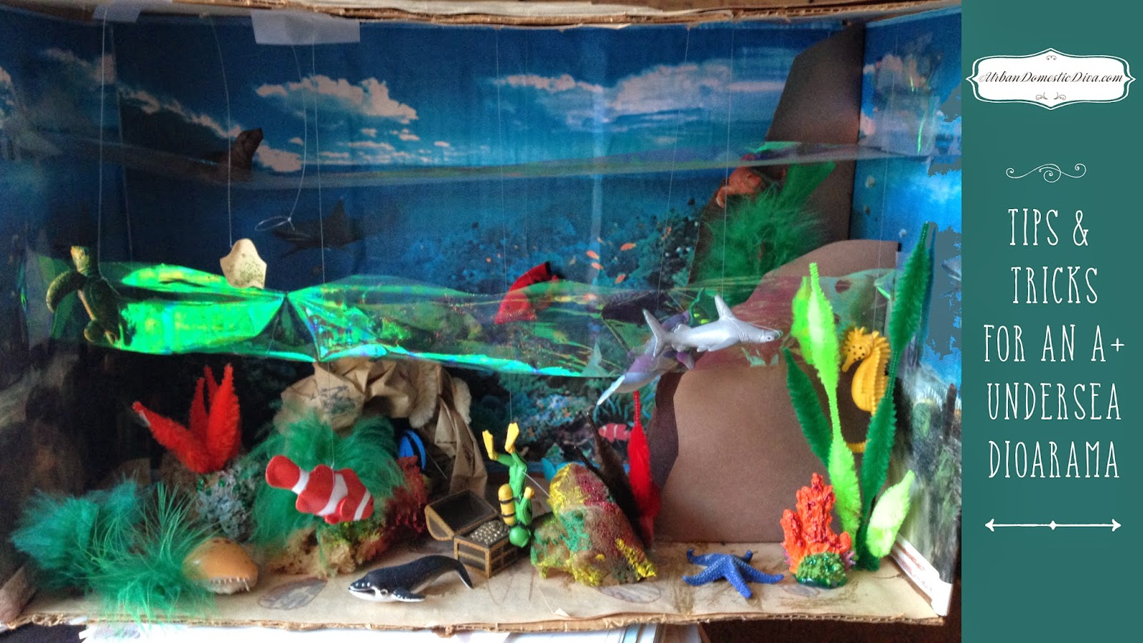 Crafts Tips And Tricks On An A Undersea Diorama