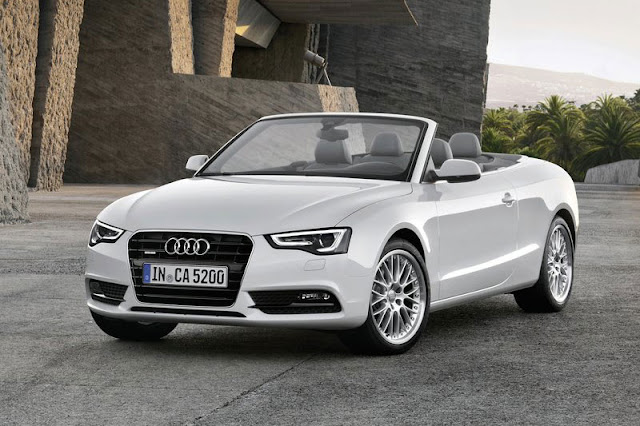 2012 Audi A5 Cabriolet White Wallpaper