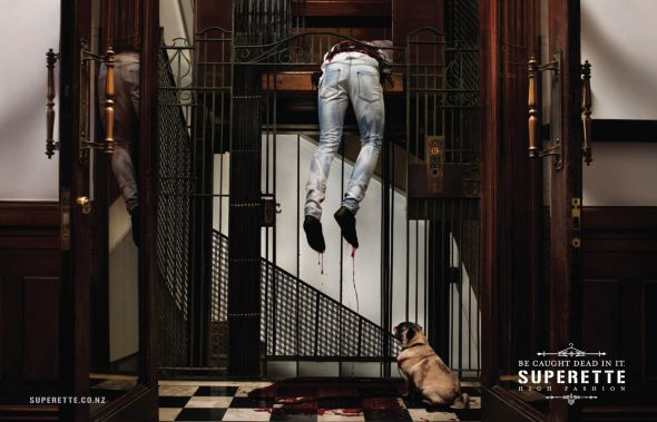 Superette Elevator advert Top 27 Creative Elevator Advertisements