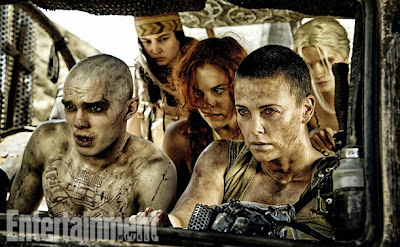 Mad Max Fury Road Image of Charlize Theron and Nicholas Hoult