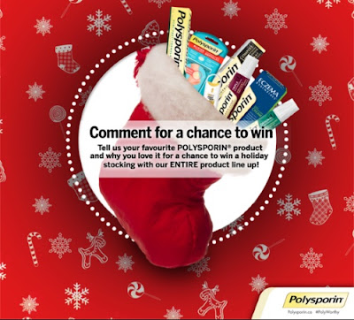 Polysporin Holiday Stock Prize Pack Contest
