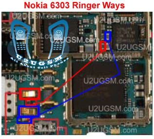 Nokia 6303 classic buzzer solution