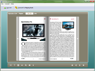 Flip PDF reader , PDF TOOLS, PDF reader , freewares, windows softwares, read pdf document , read pdf in flipping book effect