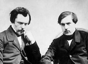 Edmond et Jules de Goncourt. Edition originale de