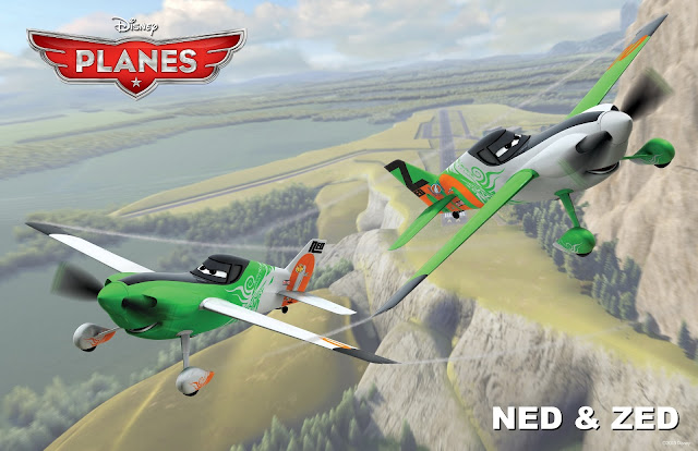 Ned & Zed in Planes