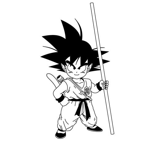 Aprendendo A Desenhar: Como desenhar o Goku | Criança da saga DBZ |