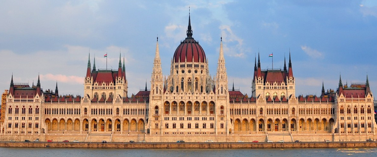 Desde hungr a el parlamento de budapest for Foto del parlamento