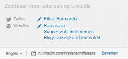 LinkedIn links