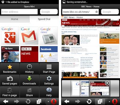 Browser Android Terbaik - Opera Mini