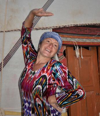 uzbek yurt camps, uzbek textile tours