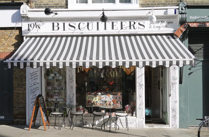 Biscuiteers Shop in Portobello, Notting Hill, a Something I made Blog mooching visit