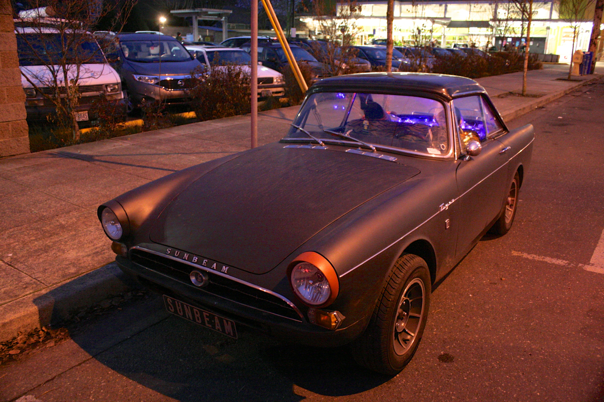 1966 Sunbeam Tiger with hardtop.