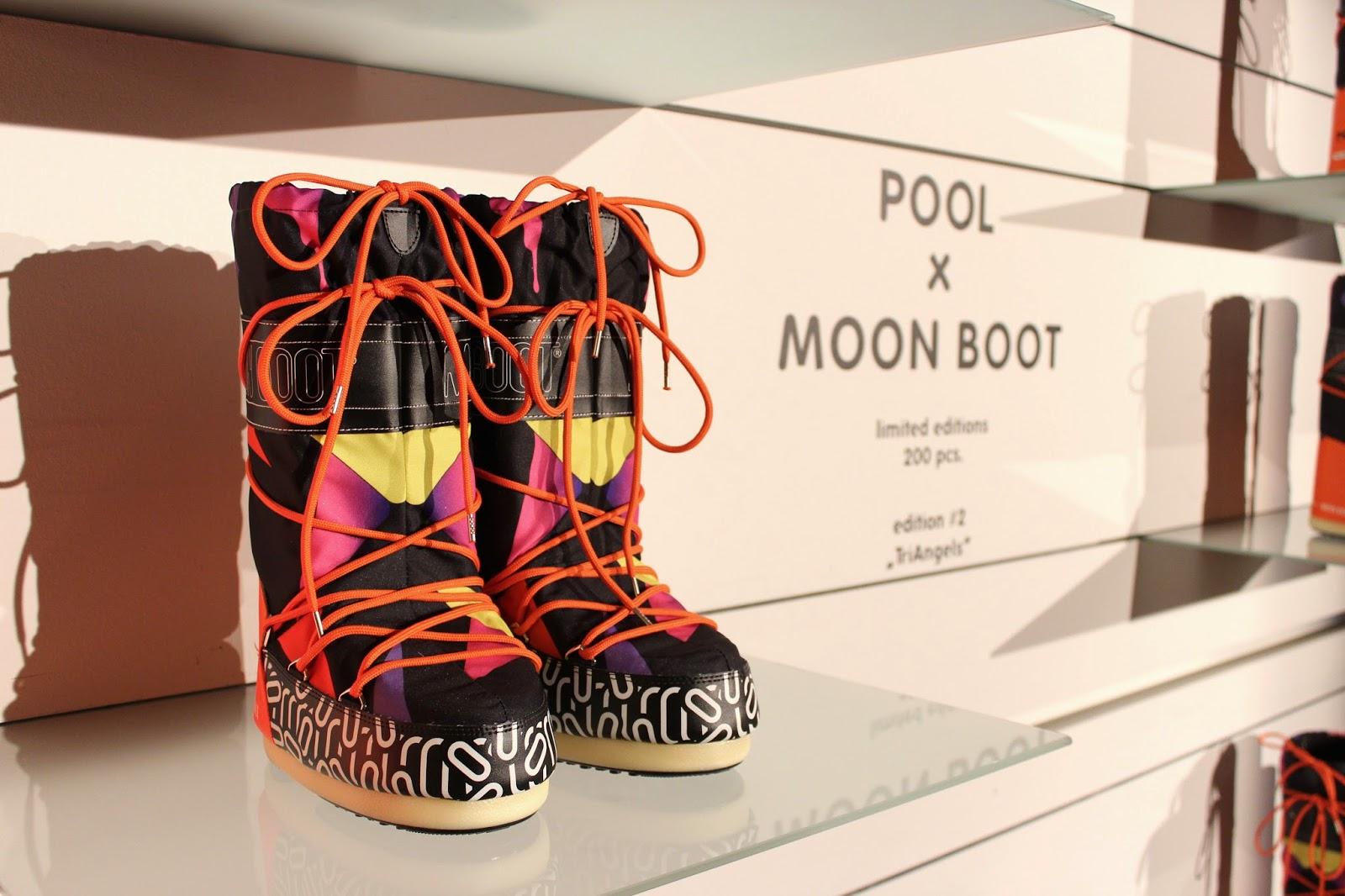 Fashion Blogger Event Moon Boots Pool Fashion