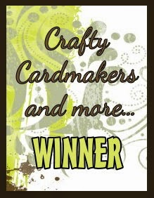 Winner at Crafty Cardmakers