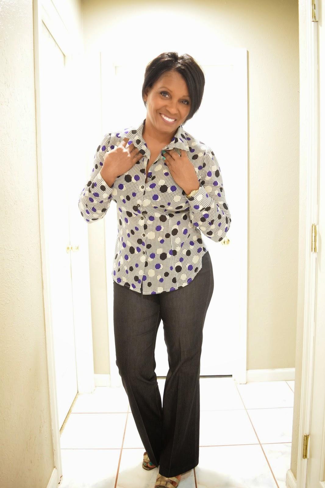 Pokadot blouse