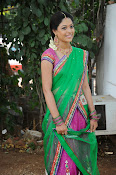 Actress Anjali Rao in Half Saree-thumbnail-12