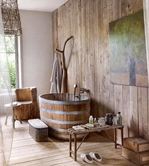 decoracao banheiro rustico – Doitricom -> Decoracao Banheiro Rustica