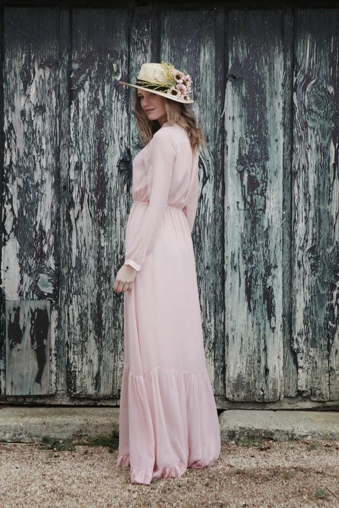 Vestido Misty Rose