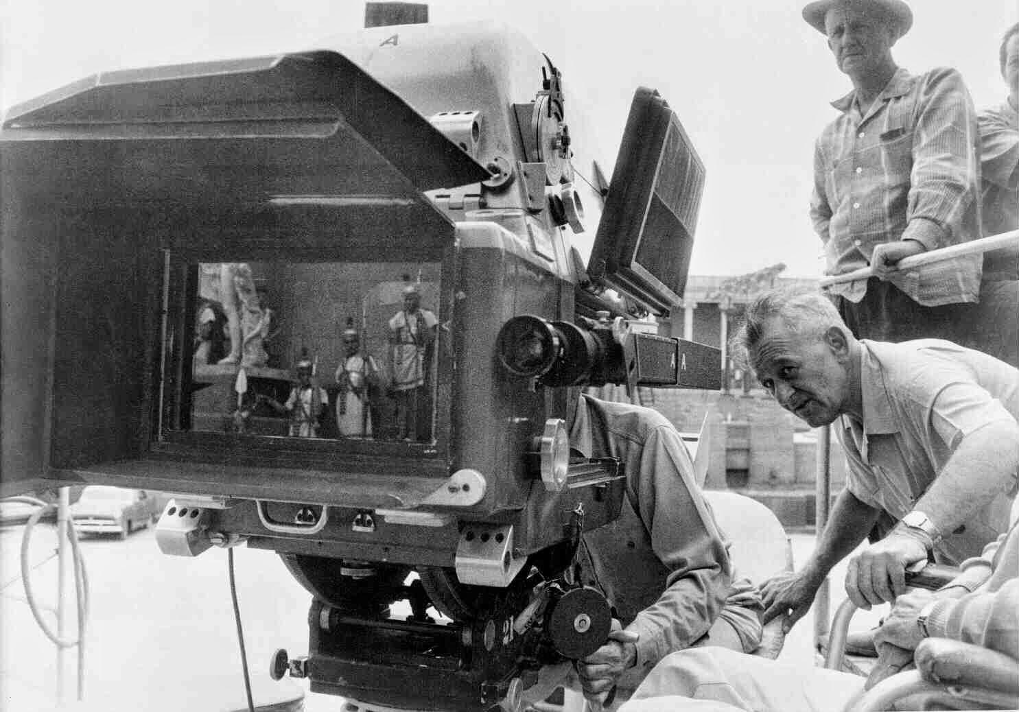 Ben-Hur detrás de las cámaras