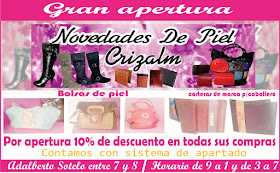 BOLSAS DE PIEL CRIZALM