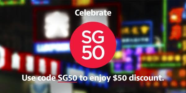 HomeAway 訂房【SGD 50優惠碼】,有效至8月10日。