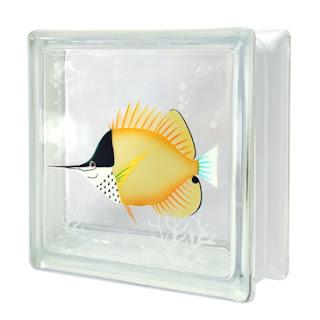 บล็อกแก้ว ปลาผีเสื้อปากยาว