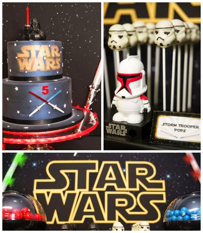 Decoraci n de fiestas infantiles de star wars fiestas for Decoracion star wars