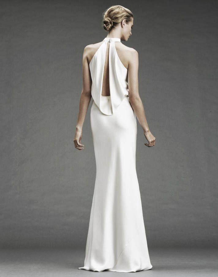 Pin dramatic bridal on pinterest for Wedding dresses with dramatic backs