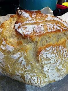 Easy Artisan bread on Katy's Kitchen