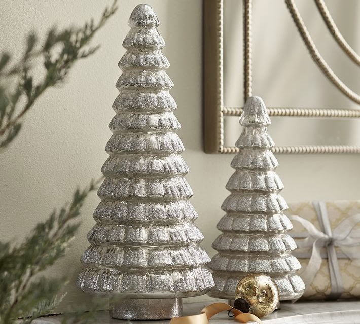 o christmas tree a flippen life - Mercury Glass Christmas Trees
