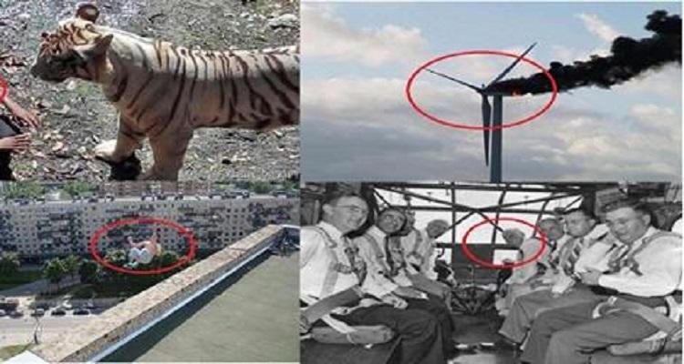 أقوى 5 صور قبل وقوع الكارثة بثواني