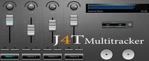 J4T Multitrack Recorder Apk v4.54