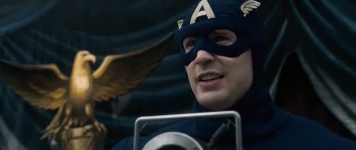 Screen Shot Of Captain America (2011) Dual Audio Movie 300MB small Size PC Movie