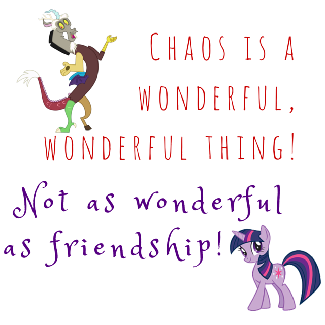 Chaos and Friendship - My Little Pony