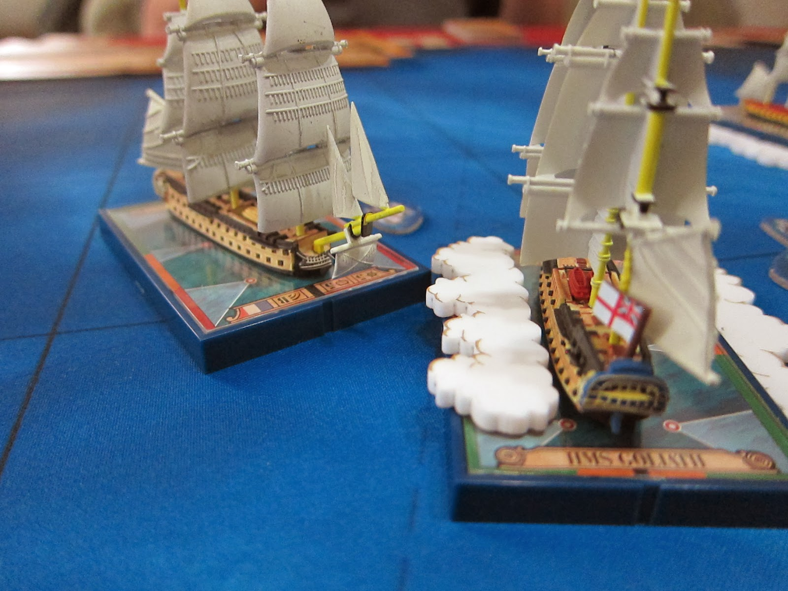 Review Sails Of Glory By Ares Games Wwpd Wargames