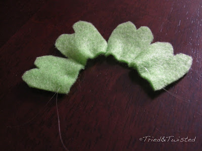 DIY St. Patty's Day Four-Leaf Clover with Tried & Twisted